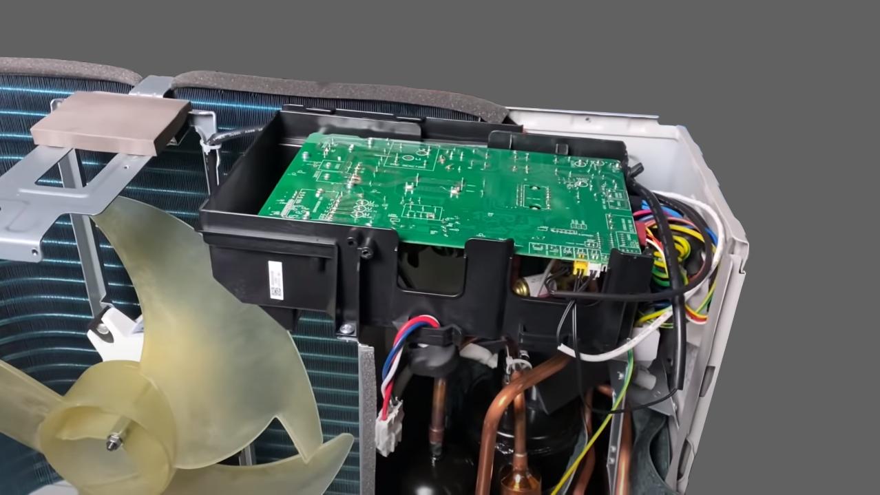 Плата инверторного управления компрессором наружного блока инверторного кондиционера