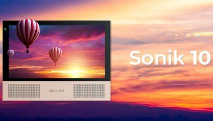 Sonik 10 – новый домофон с большим экраном и большими возможностями!
